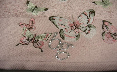 Набор полотенец 2 шт Blumarine-Blugirl Castadiva светло-розовый