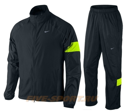 Спортивный костюм для бега мужской Nike Wind Fly yellow