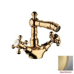 Смеситель для биде двухвентильный с донным клапаном Palazzani Adams Color 52421511 фото