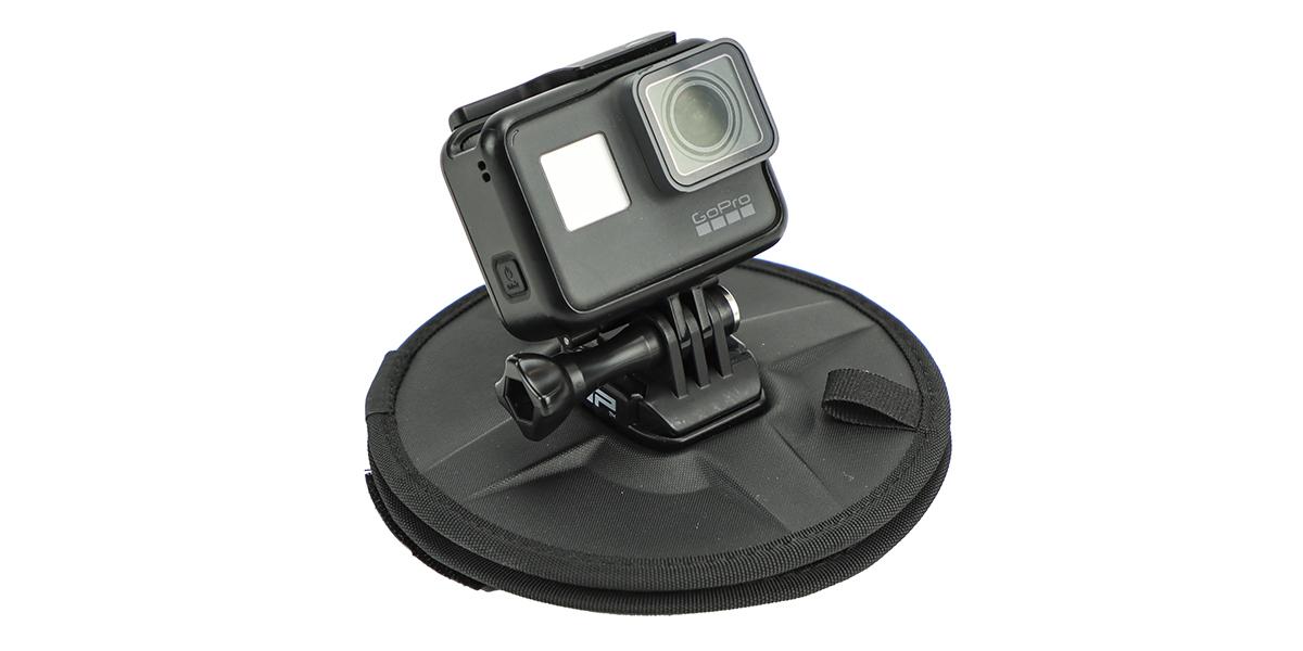 Гибкое магнитное крепление SP Flex Mount с камерой