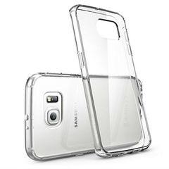 Прозрачный чехол-накладка для Samsung Galaxy S6