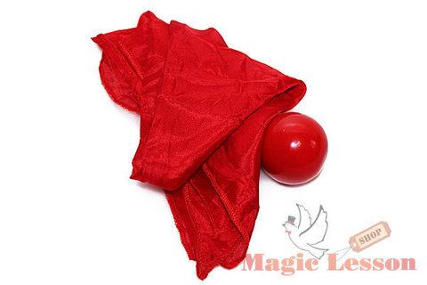Платок превращается в шарик