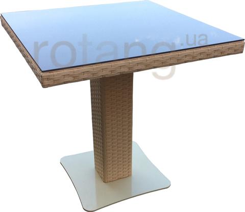 Стол обеденный Монако-1 со стеклом