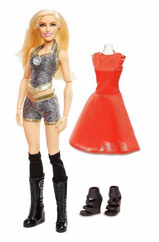 Кукла Шарлот Флэр (Charlotte Flair) с дополнительным нарядом - WWE Superstars, Mattel