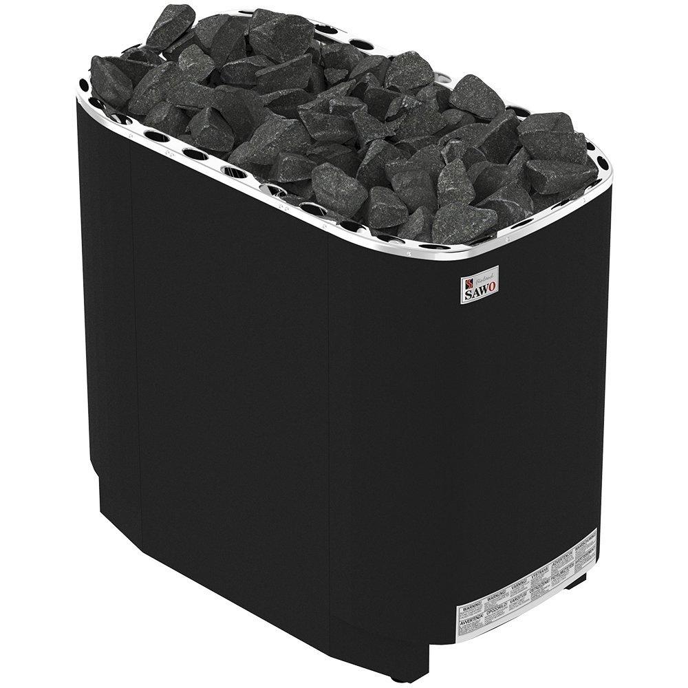 Серия Savonia: Электрическая печь SAWO SUPER SAVONIA PREMIUM V12 SAV-210NS-V12-P-F (21 кВт, выносной пульт, термопокрытие)