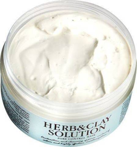 Очищающая глиняная маска Graymelin Herb & Clay Solution Pore Control Mask