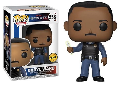 Фигурка Funko POP! Vinyl: Bright S1: Daryl Ward (CHASE)
