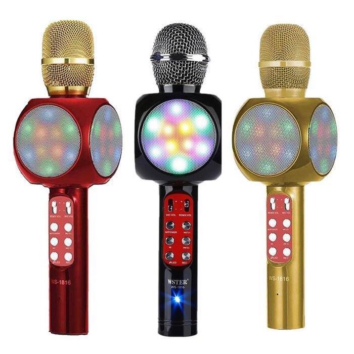 Гаджеты Микрофон с колонкой и цветомузыкой mikrofon-karaoke.jpg