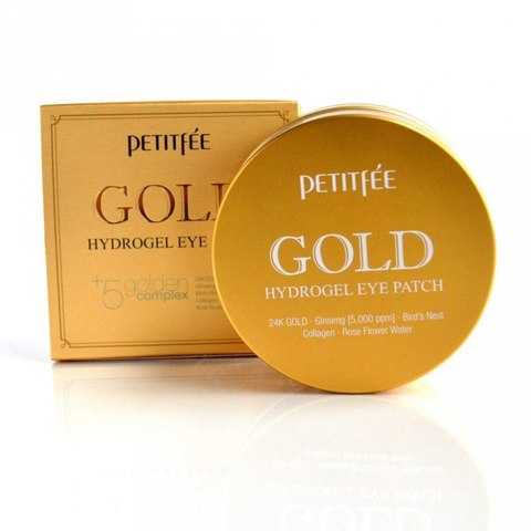 Petitfee Гидрогелевые патчи Gold Hydrogel Eye Patch