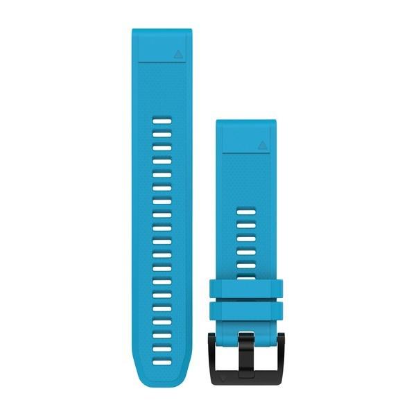 Силиконовый ремешок Garmin QuickFit 22 мм синий