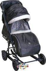 Санки Ника Детям 8-1К с большими надувными колёсами