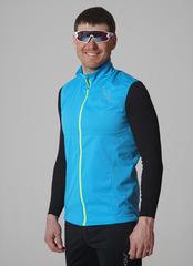 Элитный лыжный жилет Nordski Elite G-TX Blue