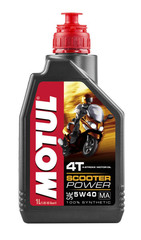 Моторное масло MOTUL Scooter Power 4T MA 5W40