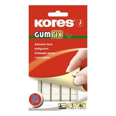 Клейкая лента -масса KORES Gum Fix удаляемая 84 шт/уп ?31600