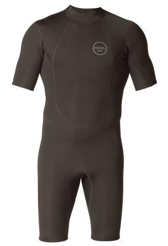 Гидрокостюм мужской короткий XCEL  2MM S/S AXIS Back ZIP SPpring Suit