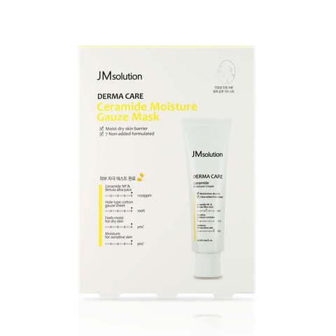 Тканевая марлевая маска с церамидами, 25 мл / JMSolution Ceramide Moisture Gauze Mask