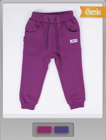 ШР359 Спортивные брюки для девочки с начесом