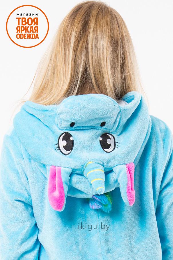 Пижамы кигуруми Единорог Бирюзово-Радужный biruz-crfp_unicorn4.jpg