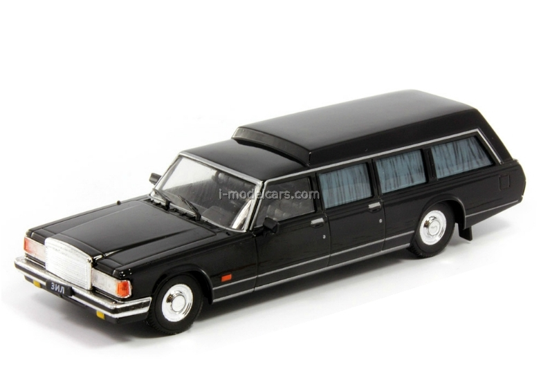 ZIL-41042 black 1:43 DeAgostini Auto Legends USSR #145