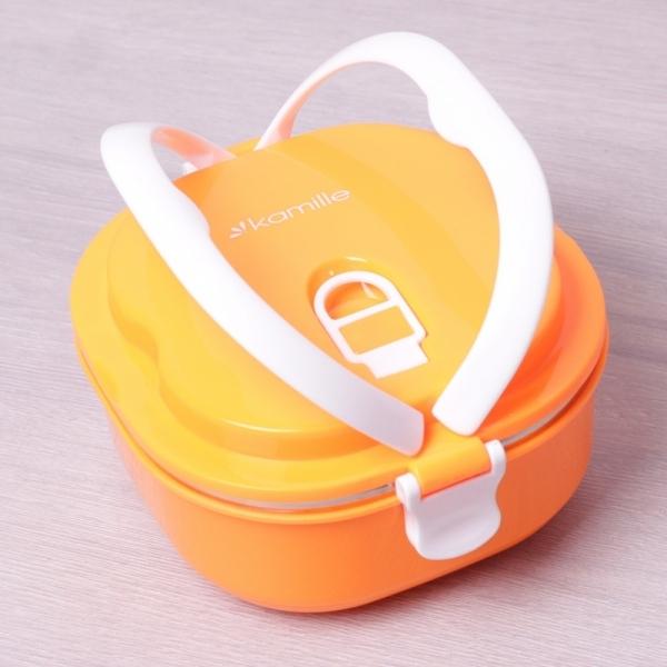 Ланч бокс Kamille 900мл оранжевый