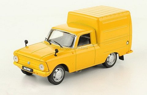 IZH-2715 1972-1982 orange 1:43 DeAgostini Auto Legends USSR #252