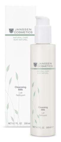 Нежное молочко для деликатного очищения кожи Janssen Cleansing Milk,500 мл.