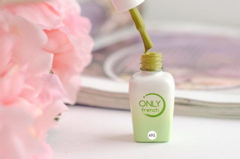 Гель-лак Only French, Green Touch №495, 7ml
