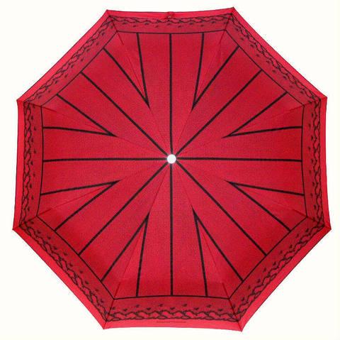 красный зонтик кружево автомат