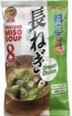 Instant Miso Soup Ryoutei No Aji Green Onion 8 servings