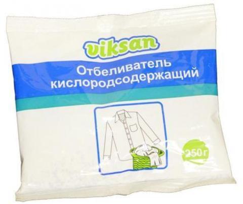 Aquasun Viksan Отбеливатель порошкообразный кислородосодержащий 250 г