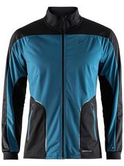 Элитная лыжная куртка Craft Sharp XC Black-Marine мужская