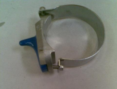 13246011 Кран вакуумный диа.76 мм в сборе для доильного ведра