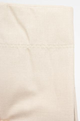 Пододеяльник 220x200 Caleffi Raso Tinta Unito сатин слоновая кость