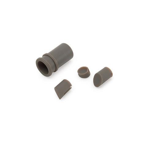 Силиконовые заглушки для самокатов XIAOMI, серые, 500615