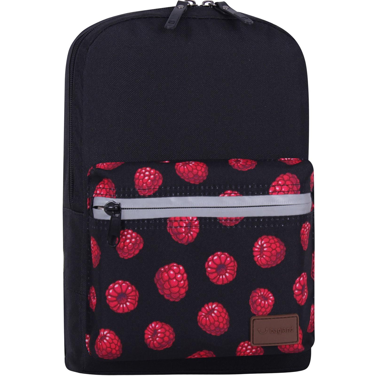 Детские рюкзаки Рюкзак Bagland Молодежный mini 8 л. черный 761 (0050866) IMG_7734_суб761_-1600.jpg