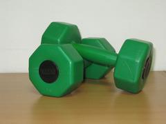 Комплект гантелей 3кг (2шт)