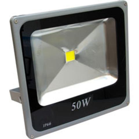 Светодиодный прожектор Feron LL-275 1LED/50W- красный 230V