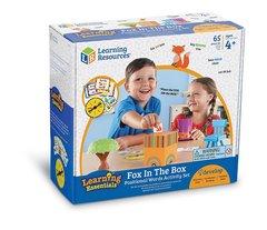 Развивающая игра Лисичка в коробочке, с карточками Learning Resources