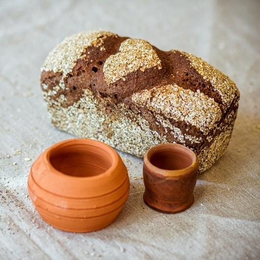 Фотография Хлеб ржаной деревенский на закваске купить в магазине Афлора