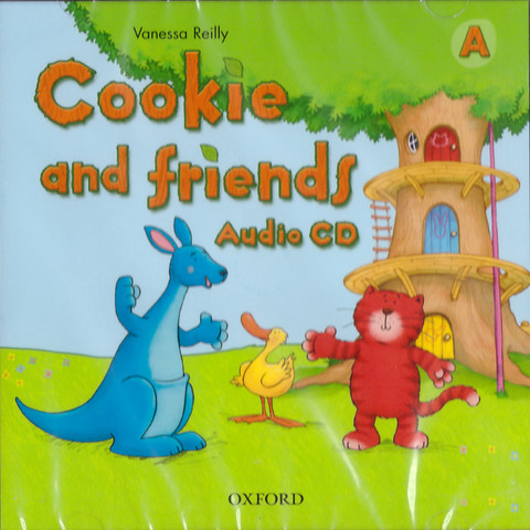 Cookie and Friends A Audio CD