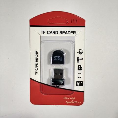 Картридер T-114 microSD на USB