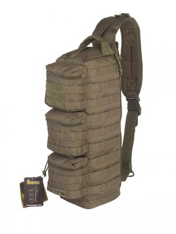 Рюкзак Однолямочный, Тактический, Gongtex Single Pack (20 л), Олива