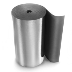 Рулон теплоизоляционный Energoflex Super AL с покрытием алюминиевой фольгой ROLS ISOMARKET 5мм х 1м х 20м