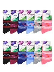 7020 носки женские, цветные 36-41 (12шт.)