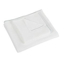 Полотенце 100х150 Hamam Qashmare Contrast белое