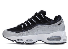 Кроссовки Женские Nike Air Max 95 Black Grey White
