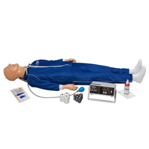 Взрослый манекен Airway Larry с электронным монитором, памятью и принтером (в полный рост) Артикул LF03595U