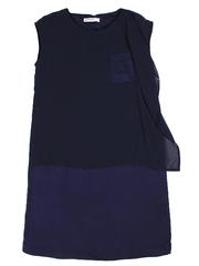 GDR009896 Платье женское. синие