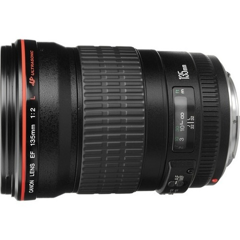 Объектив Canon EF 135mm f/2L USM Black для Canon