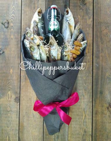 Букеты из рыбы